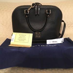 Dooney & Bourke Pebble Leather Zip
